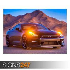 NISSAN (AB789) CAR POSTER - Photo Picture Poster Print Art A0 A1 A2 A3 A4