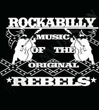 Rockabilly Camiseta Rebels ROCK & Roll Años 50 hombre o mujer ROCKEROS greasers