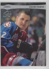 2001-02 Topps Stadium Club #98 Adam Foote Colorado Avalanche Hockey Card