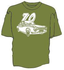 Escort Mexico Mk1 1970 original art sketch t-shirt