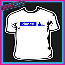 Love Dance Slogan T-Shirt Uomo Donna & Taglie Bambini