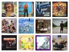 MINIATURE 1/12th Non Playable RECORD ALBUMS - ELTON JOHN - Set 2 - VARIOUS