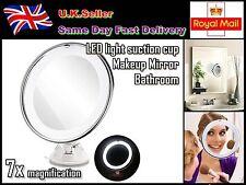 LED light Bathroom/Dressing Room vanity Makeup mirror 7x magnification powerful