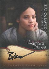 "Vampire Diaries - A20 Bianca Lawson ""Emily Bennett"" Autograph Card"