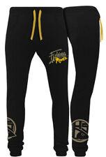 Hotspot Design Jogpant Fishing Mania Jogginghose, Collection Mania, schwarz gelb