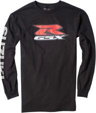 Factory Effex Licensed Suzuki GSX-R Long Sleeve Shirt Black Mens All Sizes