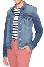 Gap Women`s Icon Denim Jacket Outerwear S , L , XL Sizes Medium wash Msrp$60 NWT