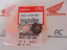 Honda XL XR NX TL 125 175 185 200 250 350 Nut Lock 16 mm Washer Set pochette New