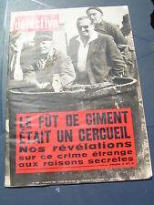 Détective 1966 1031 BOSSAY LEWARDE GIGNEY POMMIERS VIDAUBAN VARENNES-VAUZELLES
