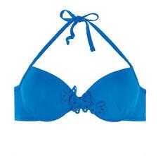Passionata Papillon 5755 Underwired Moulded Balcony Plunge Halterneck Bikini Top
