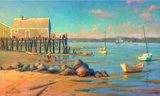 PROVINCETOWN HARBOR Low Tide Beach 11x17 Giclee Print **SALE