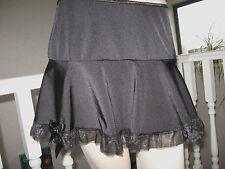 GOTHIC Black Micro Skirt Clubwear,Lolita,Rock,Punk,Goth