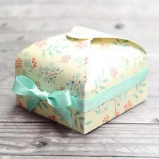 Gift box, favor box, jewelry box, wedding favor, Set of 12