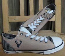 Kidstracht Trachtenschuhe Schuh braun Chucks Sneaker Kinderschuh  Gr. 26 - 34