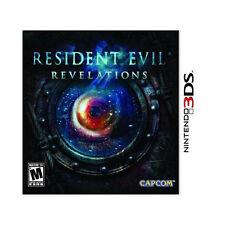 Resident Evil: Revelations (Nintendo 3DS, NTSC Capcom Action Video Game) New