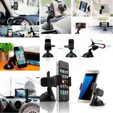 Clip Car Mount Holder Windscreen 360 Ratotable Sunction Cradle for Mobile Phones