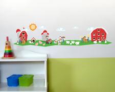 Bauernhof Trecker Wandtattoo Wandaufkleber Kinderzimmer  2 Größen