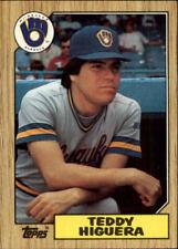 1987 Topps Baseball (Pick From List 250-499)