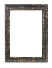 Industriel Vintage Effet Bois /Camouflage Image / Photo / Affiche Cadre Noir