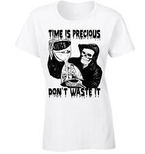temps est précieux T-shirt The Grim Reaper motivationnelle GOTHIQUE DON't Waste