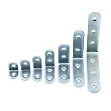 10x Stainless Steel Right Angle Bracket Corner Brace Joint Shelf Support Sha VGC