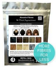 Alopecia Areata Treatment Solution Hair Fibres Hide / Conceal 100g - FREE P&P