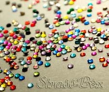 DMC Hotfix Strass Pietre Farbmix ss10 numero di pezzi selezionabile AAA Qualità Colorato