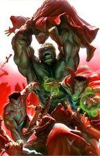 Hulk Namor Doctor Strange Yandroth Scientist Supreme Planet Yann Fine Art Canvas