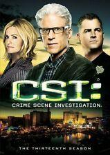 CSI: Crime Scene Investigation - The Thirteenth Season (DVD, 2013, 6-Disc Set)