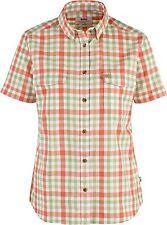 Fjäll Räven Övik Shirt Women, coral, Kurzarm-Damenhemd