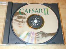 Caesar II PC CD-ROM Strategy Game Sierra MS-DOS