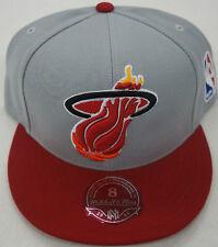 NBA Miami Heat Mitchel and Ness M&N XL Logo Cap Hat NEW!