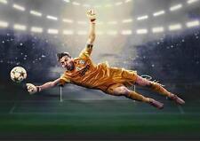 Adriano Buffon Juventus Pared Arte Impresión Foto Foto Poster A3 A4