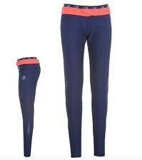 Karrimor Xlite Damen Lauf Jogging Hose Tight lang Blau Pink alle Größen Neu