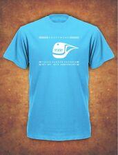 40th Anniversary KRAFTWERK TRANS EUROPE EXPRESS RETRO  Mens T-Shirt Sky Blue