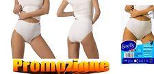 6 slip maxi culotte donna cotone elasticizzato SNELLY art. 396