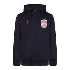Liverpool FC Official Football Gift Mens Fleece Zip Hoody