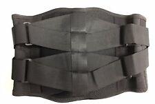 Soporte lumbar con cintas de compresión Tire ajustable con relleno Y023