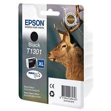 GENUINE EPSON BLACK EXTRA HIGH CAPACITY XL INK CARTRIDGE C13T13014010 / T1301