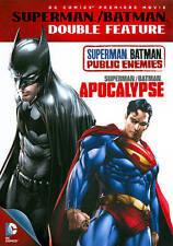 Superman Batman Double Feature Public Enemies Apocalypse DC Universe Widescreen