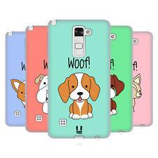 HEAD CASE DESIGNS HAPPY PUPPIES SOFT GEL CASE FOR LG PHONES 3