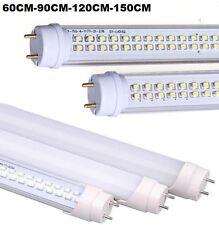 TUBO NEON LED 9W 13W 18W 36W 60CM 90CM 120CM 150CM T8 LUCE BIANCA FREDDA