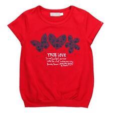 "bóboli fille t-shirt FR True Love "" Rouge gr. 92 - 164"