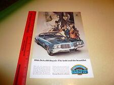 Oldsmobile Delta 88 Royale Ad Advertisement Vintage Rocket 455