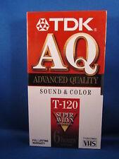TDK AQ T-120 VHS
