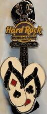 Hard Rock Hotel HOLLYWOOD FL 2011 Flip Flops Guitar PIN - HRC Catalog #59336