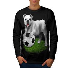 Bulldog Football Sport Men Long Sleeve T-shirt NEW | Wellcoda
