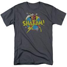 Shazam! DC Comics Power Bolt Lightning Fist Tee Shirt Adult S-3XL