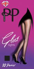 Pretty Polly Ladies Womens 10 Denier Gloss Tights  Pretty Polly UK Size SM ML XL