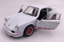 Porsche Carrera RS 2.7 Modellauto Auto LIZENZPRODUKT 1:34-1:39 weiß